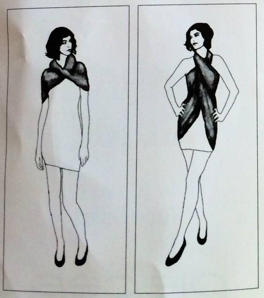Comment porter l 39 charpe tube - Comment porter un foulard ...
